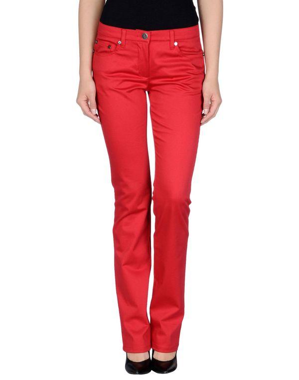 红色 ROCCOBAROCCO 裤装