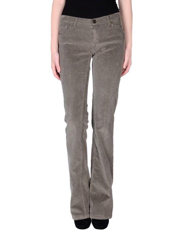 铅灰色 TWIN-SET JEANS 裤装