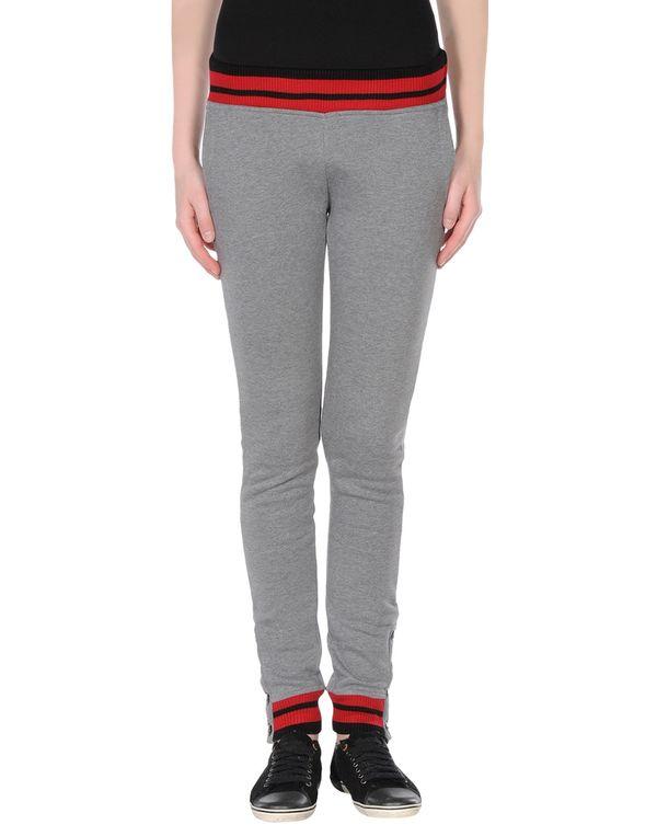 灰色 LOVE MOSCHINO 裤装