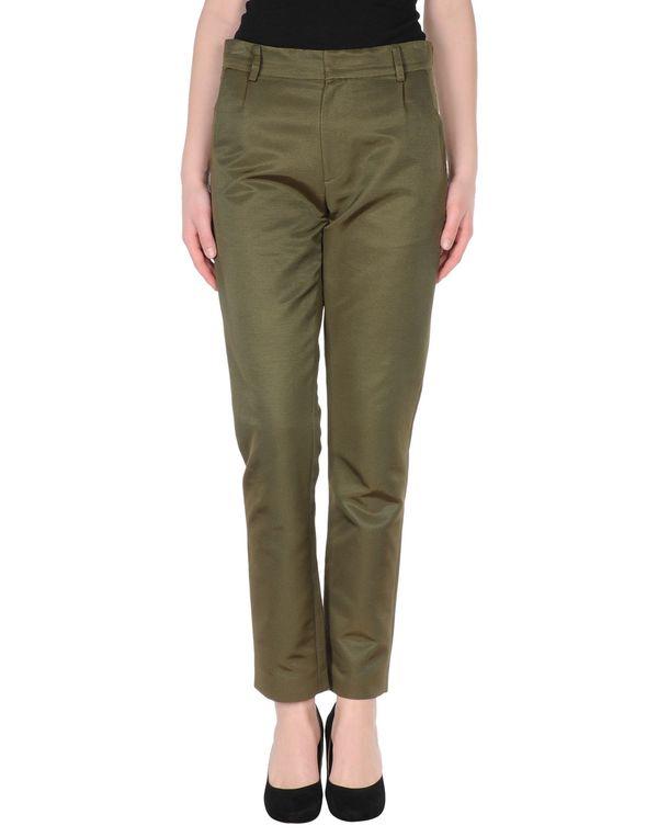 军绿色 CO|TE 裤装
