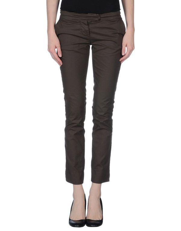 深棕色 MANILA GRACE 裤装