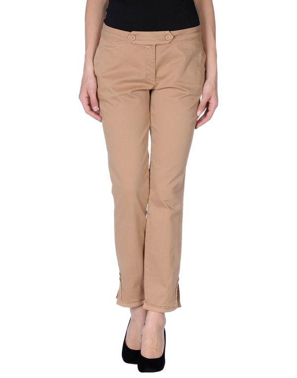 驼色 SCERVINO STREET 裤装