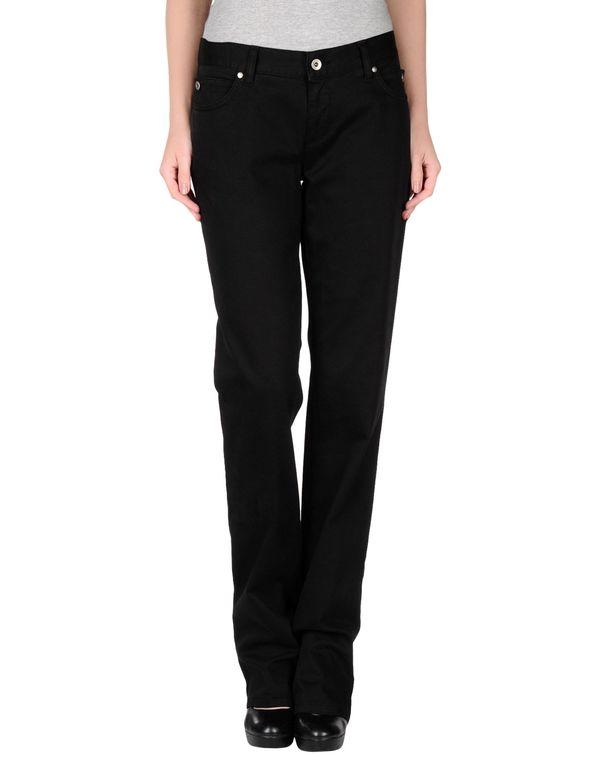 黑色 SCERVINO STREET 裤装