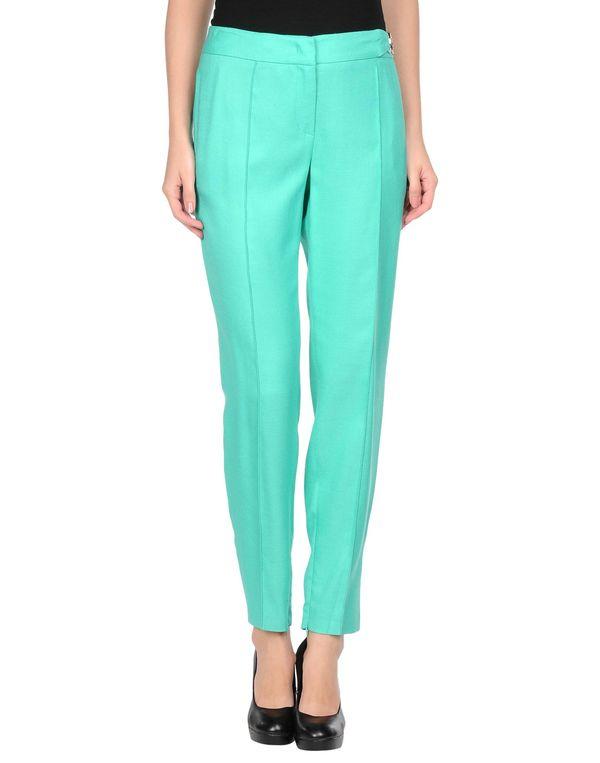 浅绿色 VERSACE COLLECTION 裤装