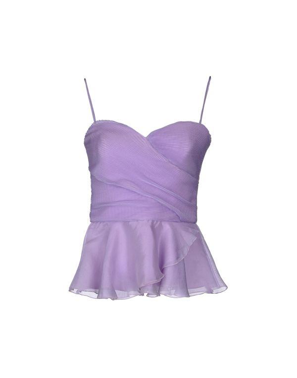 丁香紫 ARMANI COLLEZIONI 上衣