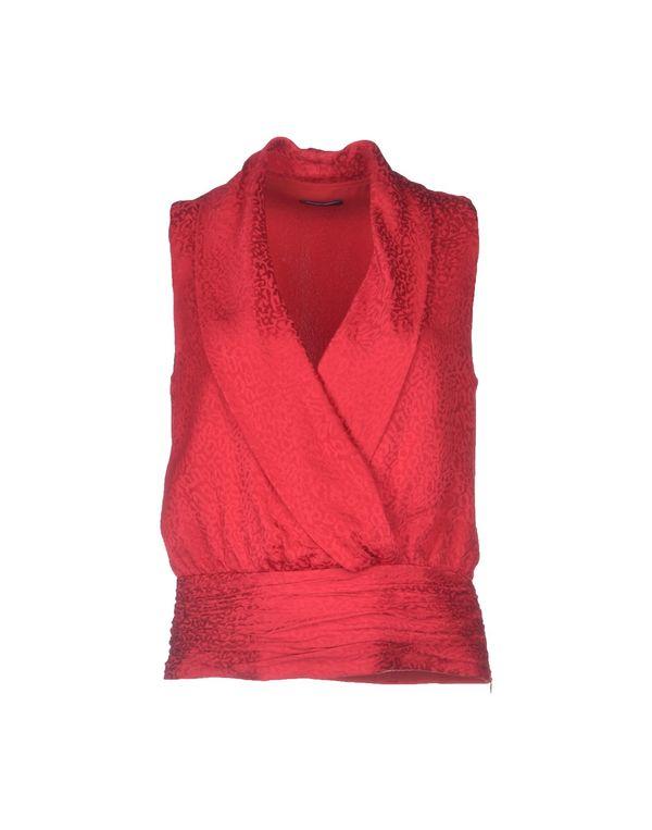 红色 EMPORIO ARMANI 上衣