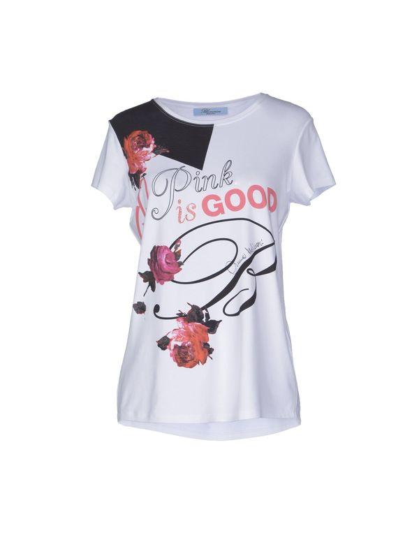 白色 BLUMARINE T-shirt