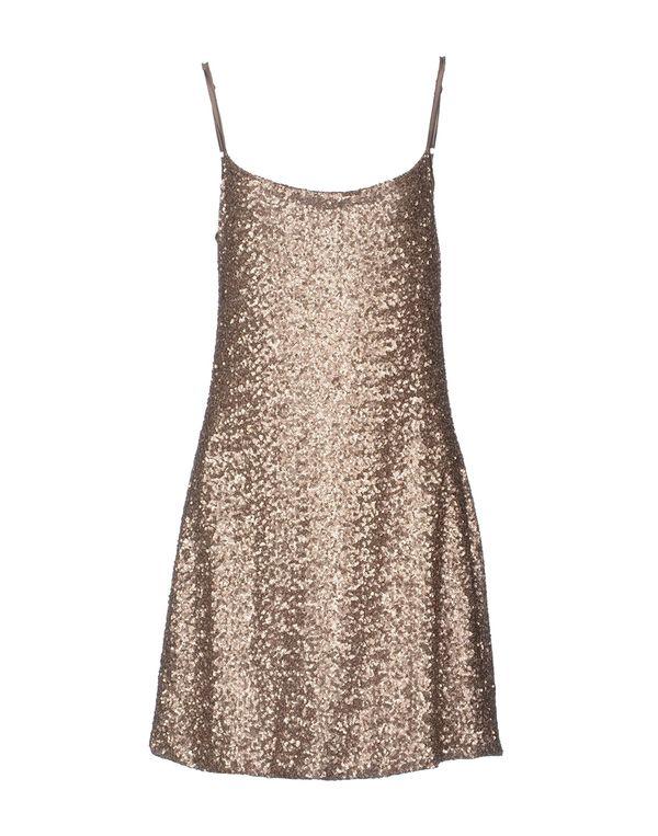 青铜色 KAOS 短款连衣裙