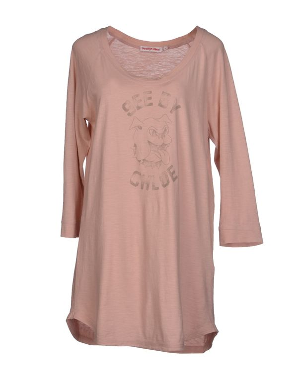 粉红色 SEE BY CHLOÉ T-shirt