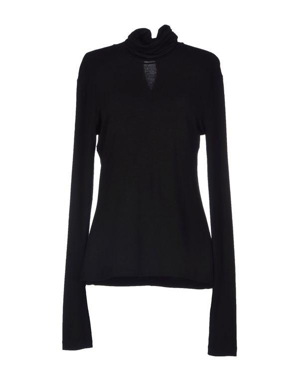 黑色 DONNA KARAN T-shirt