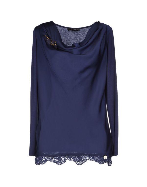 紫色 LIU •JO T-shirt