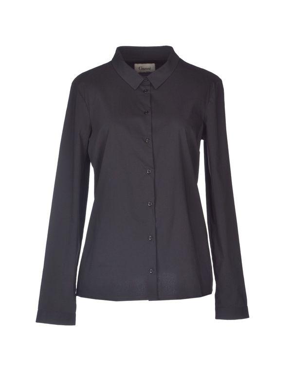 黑色 GANNI Shirt
