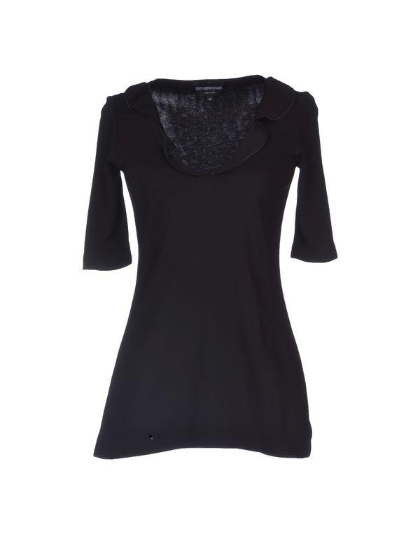 黑色 EMPORIO ARMANI T-shirt