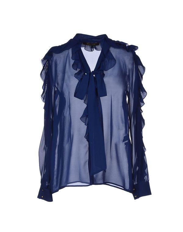 蓝色 ROBERTO CAVALLI Shirt