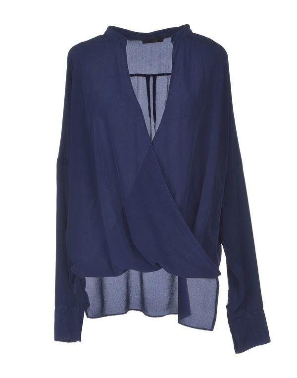 蓝色 PINKO BLACK 女士衬衫