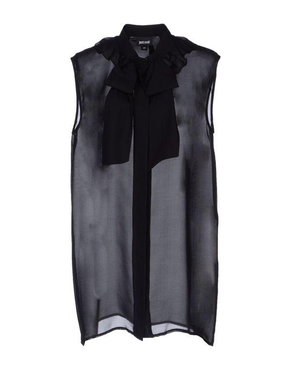 黑色 JUST CAVALLI Shirt