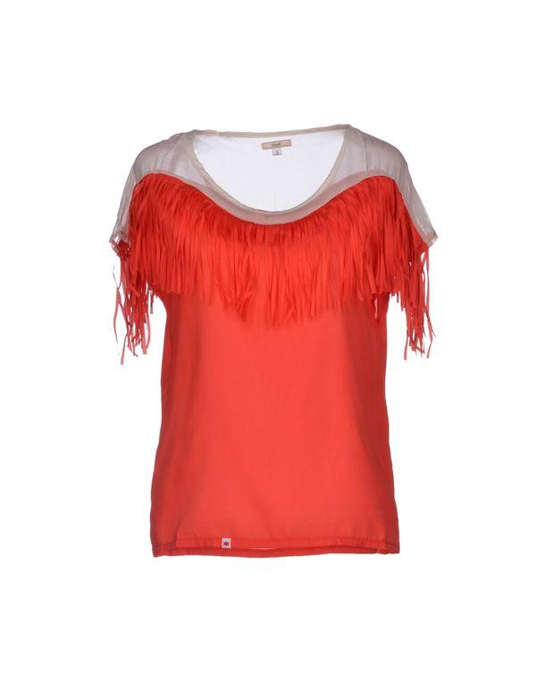 红色 KLING 女士衬衫