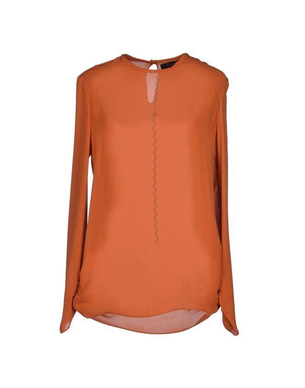 铁锈红 KRISTINA TI 女士衬衫
