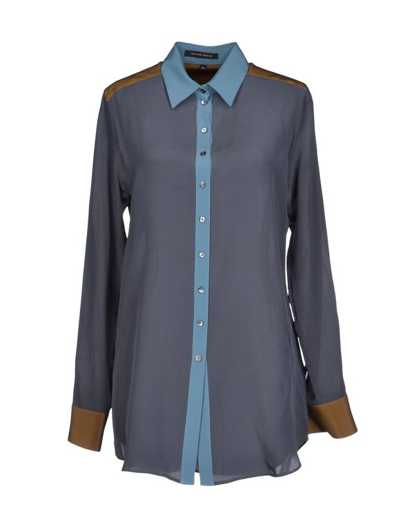 石青色 WALTER VOULAZ Shirt