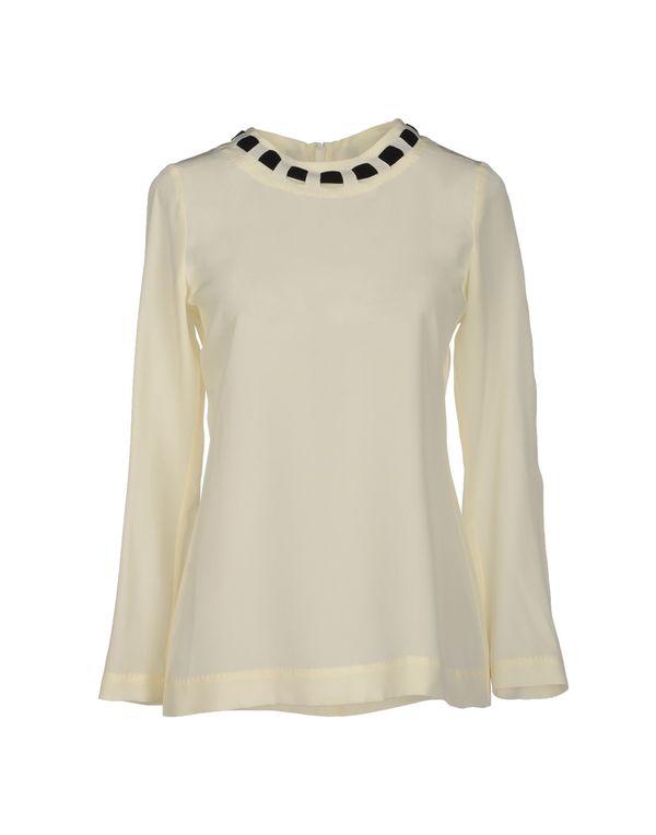 象牙白 MOSCHINO 女士衬衫