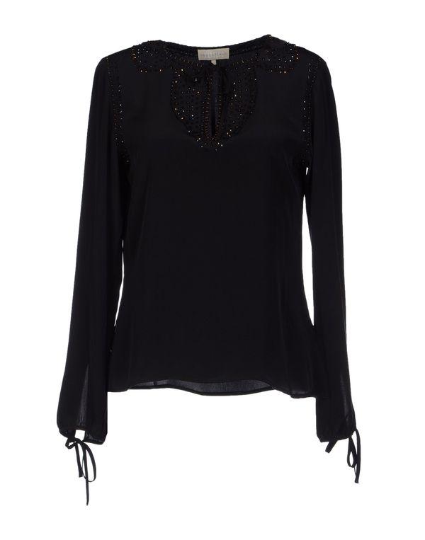 黑色 MARELLA 女士衬衫