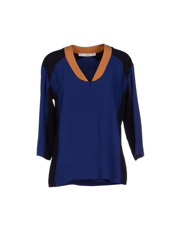 蓝色 JUCCA 女士衬衫
