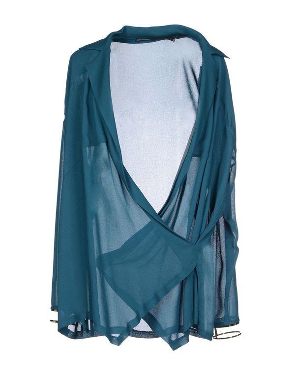 孔雀绿 GAETANO NAVARRA 女士衬衫