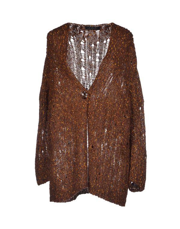 棕色 KRISTINA TI 针织开衫
