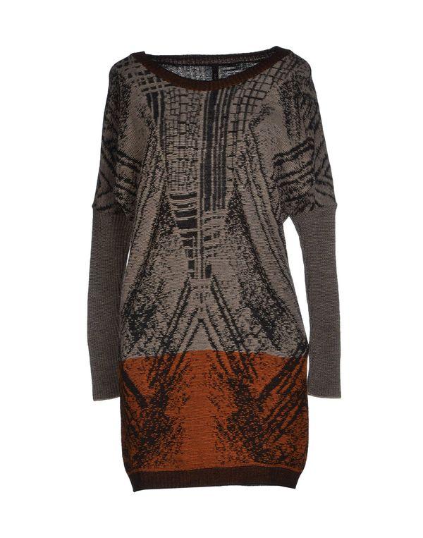 黑色 PIANURASTUDIO 短款连衣裙