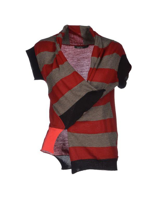 红色 PIANURASTUDIO 针织开衫