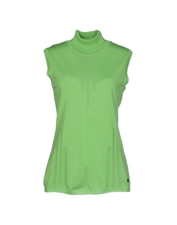 浅绿色 VERSACE COLLECTION 圆领针织衫