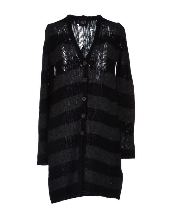 黑色 TWIN-SET JEANS 针织开衫