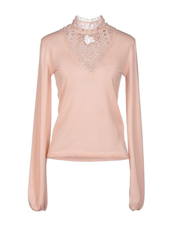 粉红色 EMILIO PUCCI 圆领针织衫