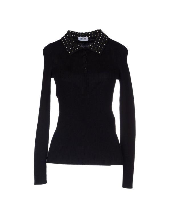 黑色 MOSCHINO CHEAPANDCHIC 套衫