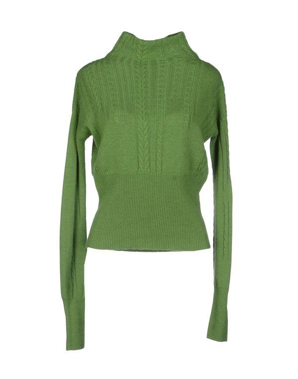 绿色 HIGH 圆领针织衫