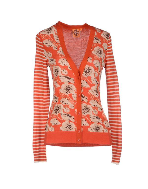 橙色 TORY BURCH 针织开衫