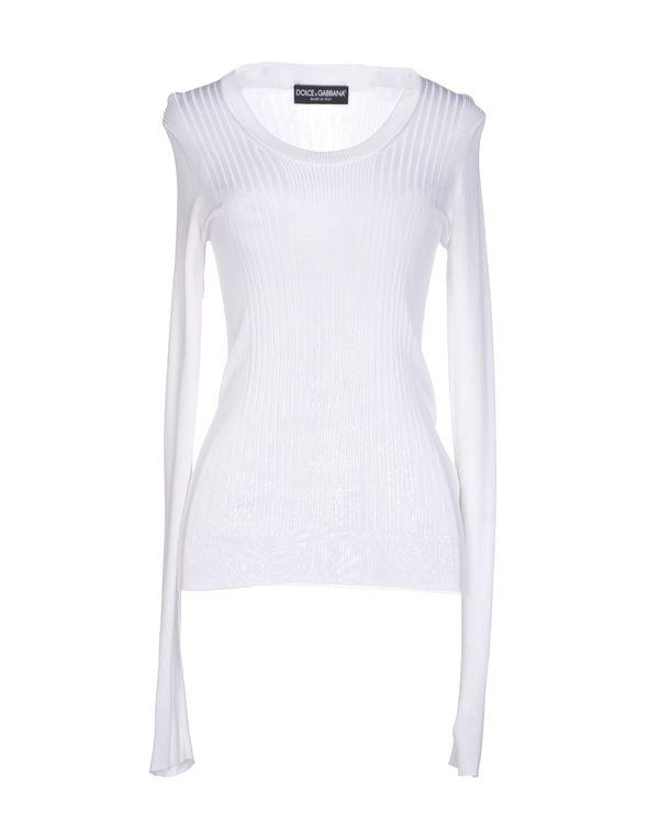 白色 DOLCE & GABBANA 套衫