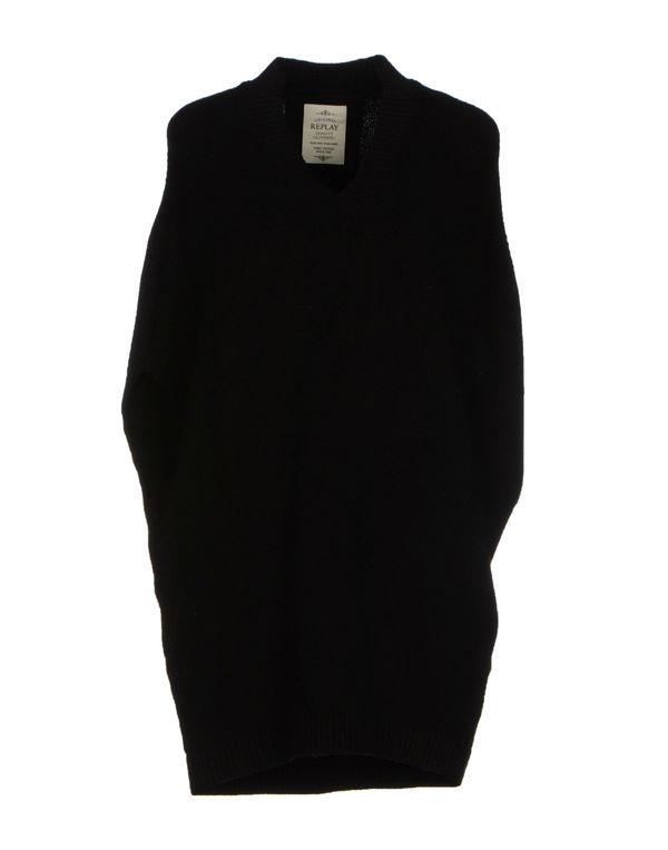 黑色 REPLAY 套衫
