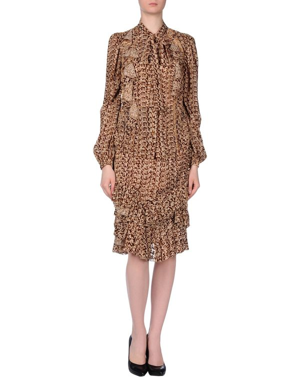 棕色 AQUILANO-RIMONDI 女士套装