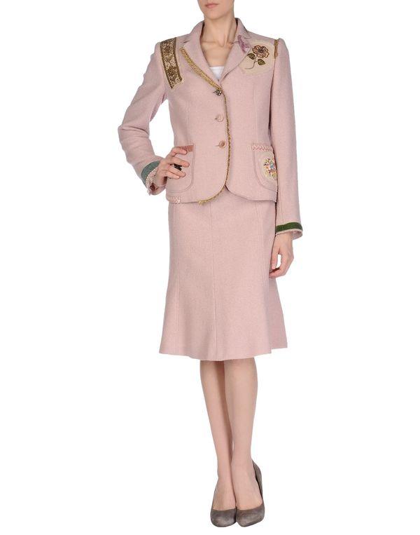 粉红色 MOSCHINO CHEAPANDCHIC 女士西装套装