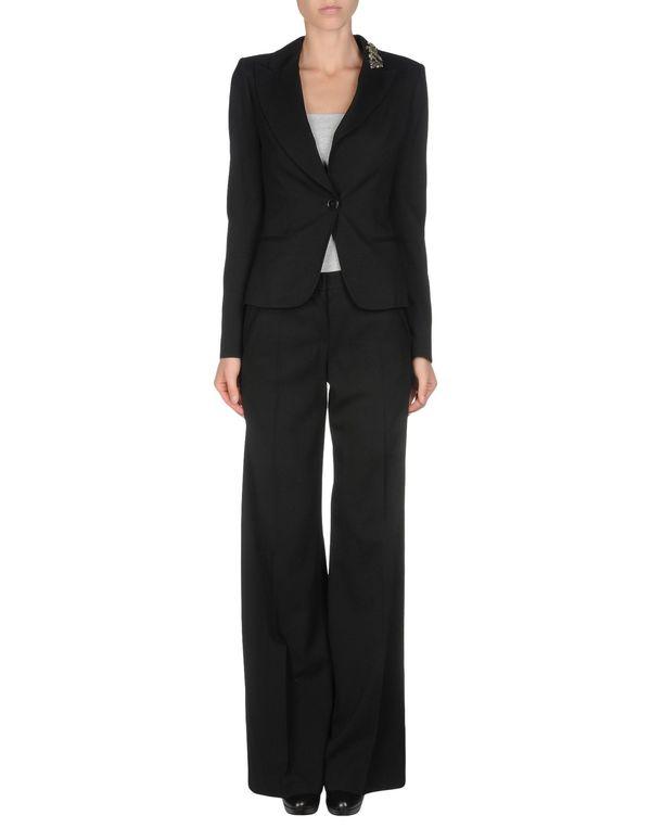 黑色 BLUMARINE 女士西装套装