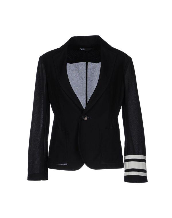 黑色 Y-3 西装上衣