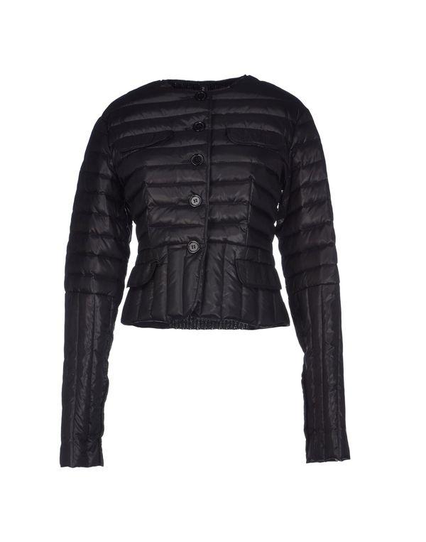 黑色 PIANURASTUDIO 羽绒服