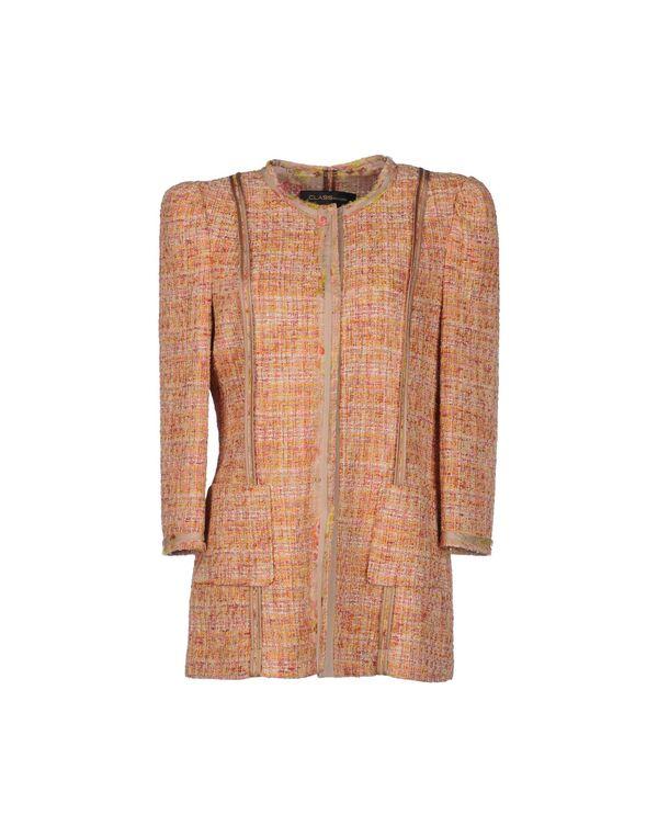 橙色 CLASS ROBERTO CAVALLI 西装上衣
