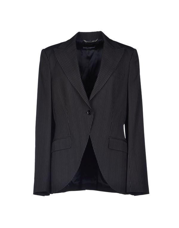 黑色 DOLCE & GABBANA 西装上衣