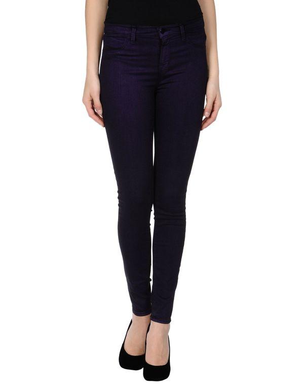 紫色 J BRAND 牛仔裤