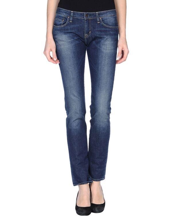 蓝色 CARHARTT 牛仔裤
