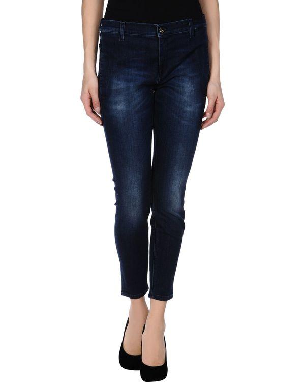 蓝色 KAOS 牛仔裤