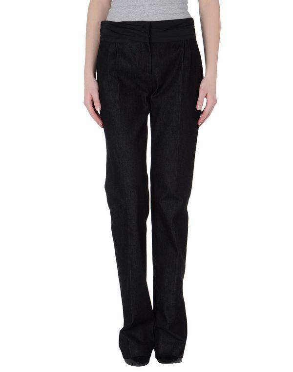 黑色 SCERVINO STREET 牛仔裤