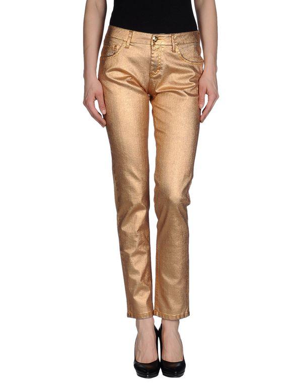 黄铜色 BLUMARINE 牛仔裤